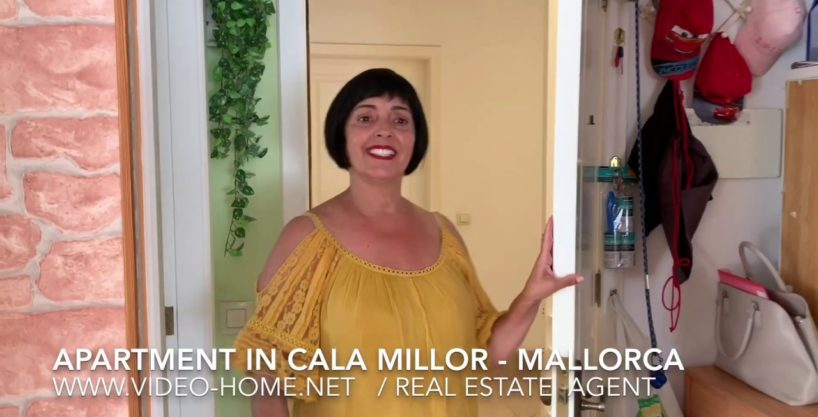 Central apartment near the beach in Cala Millor. See videos