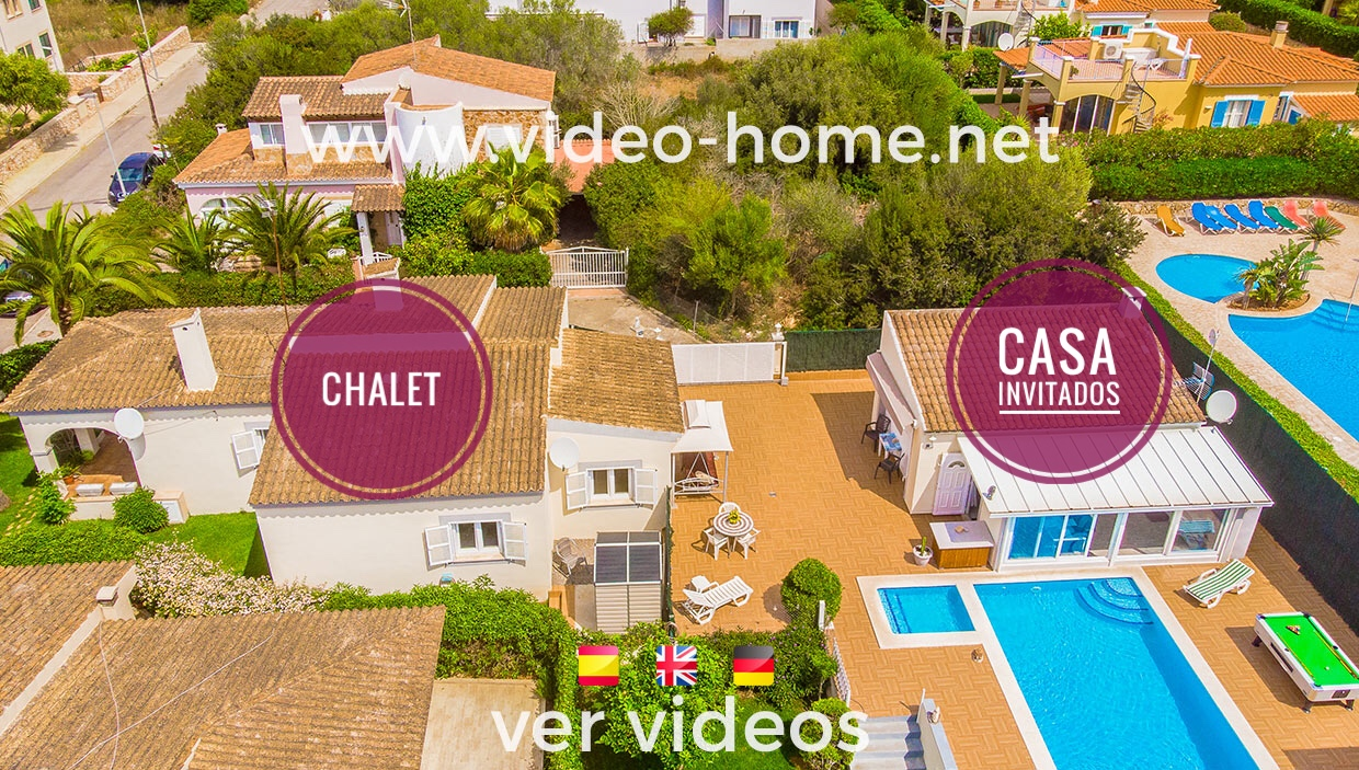 Chalet en Porto Cristo Novo con piscina y casita de invitados. Ver video-documental
