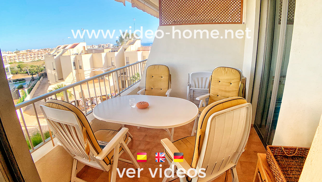 Duplex in Colonia Sant Jordi with seaviews and Salinas views. See videos