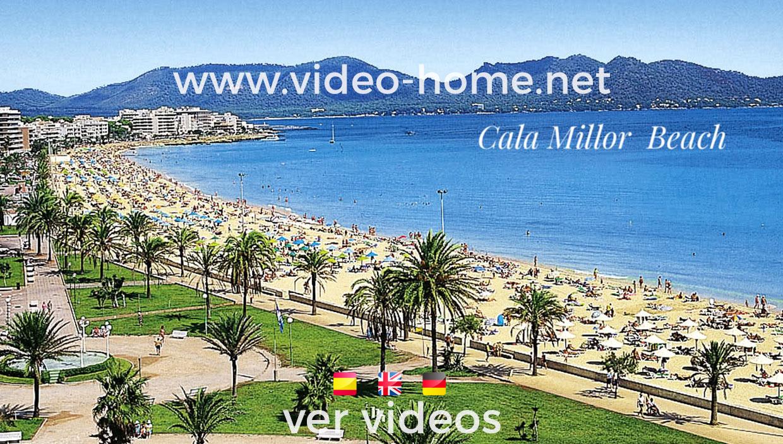 Apartamento muy centrico en  Cala Millor a 2 minutos del mar. Ver video-documental