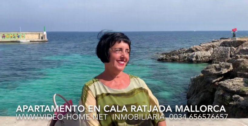 Apartamento en el centro de Cala Ratjada en Mallorca. Ver video-documental