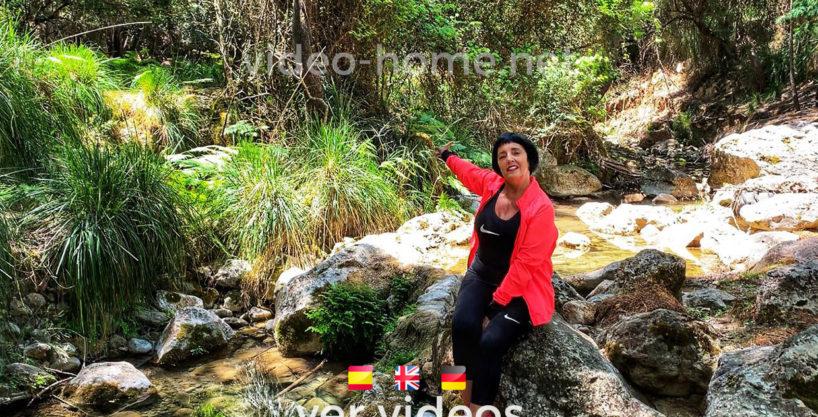 Finca de montaña con casa y molino en plena naturaleza con rio en Esporles