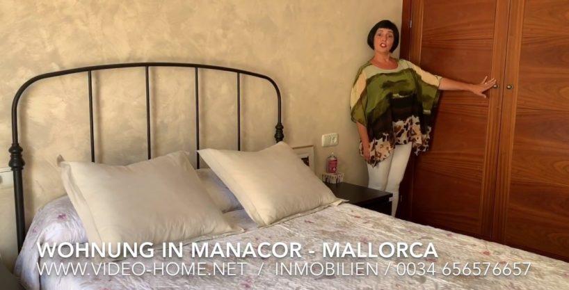 Schöne und geräumige Wohnung in zentraler Lage in Manacor. Dokumentarvideo zu sehen