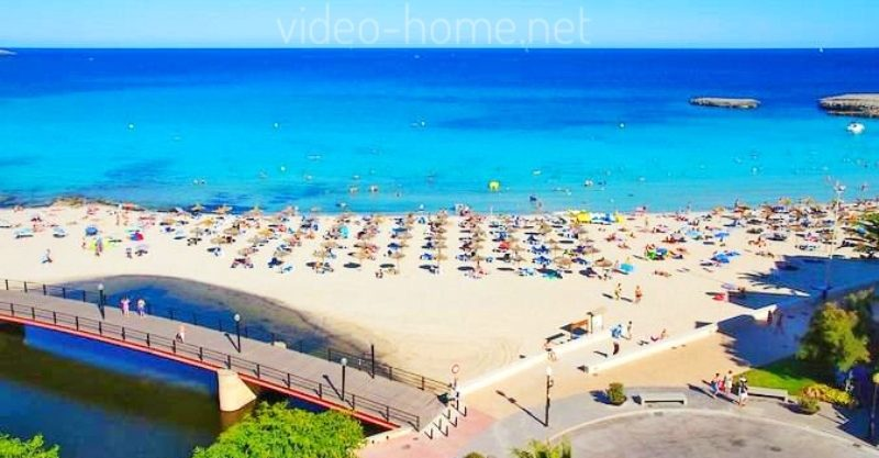 S´Illot (Manacor) Apartment with elevator 20 m from the sea