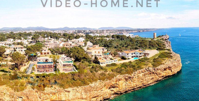 Porto Cristo Bonito chalet con vista al mar en Zona Residencial .