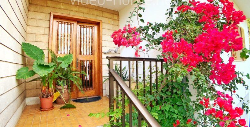 Porto Cristo villa with sea view in second line  in Residential Zone.