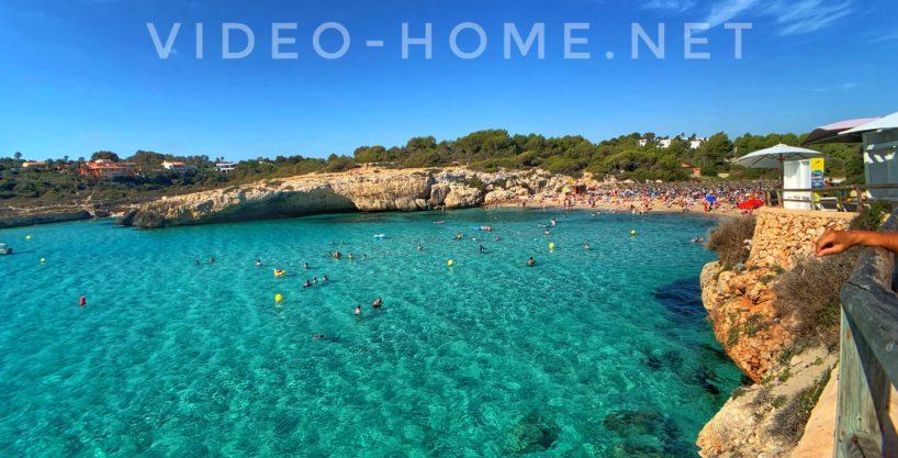 Apartment near the sea and views of the green area in Calas de Mallorca