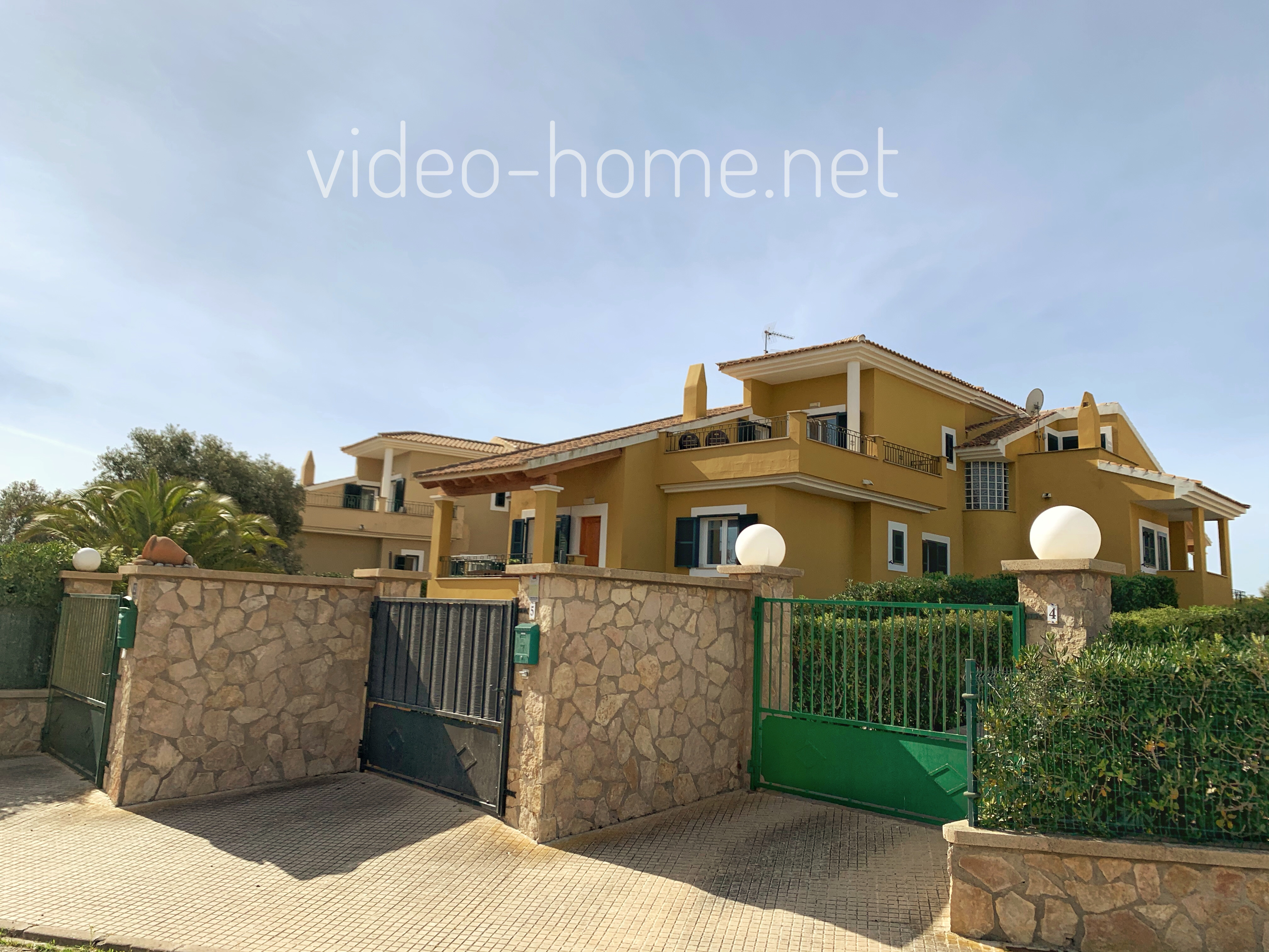 Schönes Haus mit Garten in der Nähe des Meeres in Calas de Mallorca