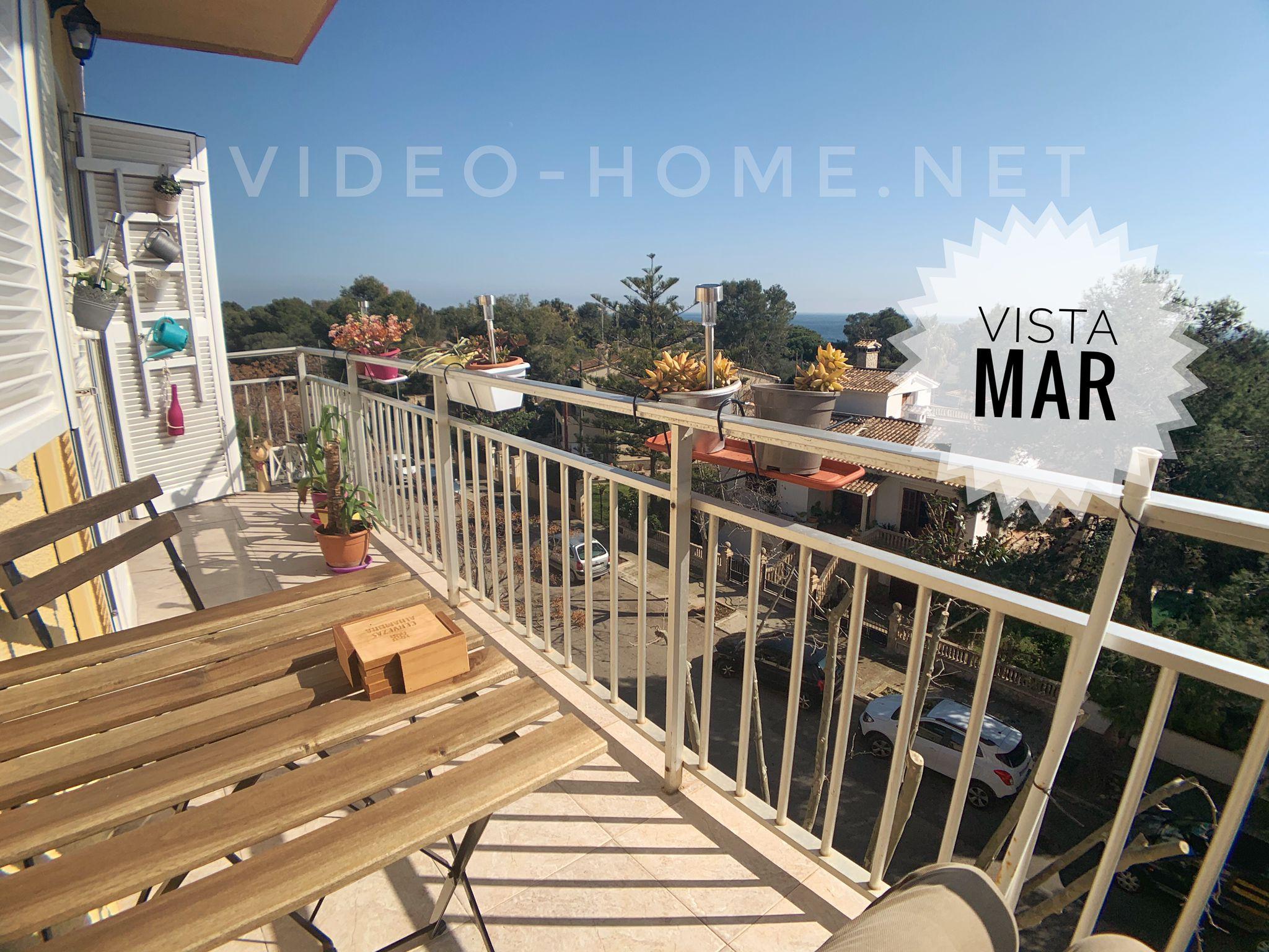 Apartamento con licencia vacacional y vistas parciales al mar en Porto Cristo