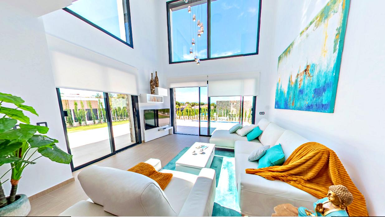 Villa con piscina y vistas al mar en colonia Sant Pere